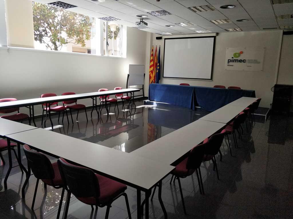 Sala actes PIMEC Girona i Giworking