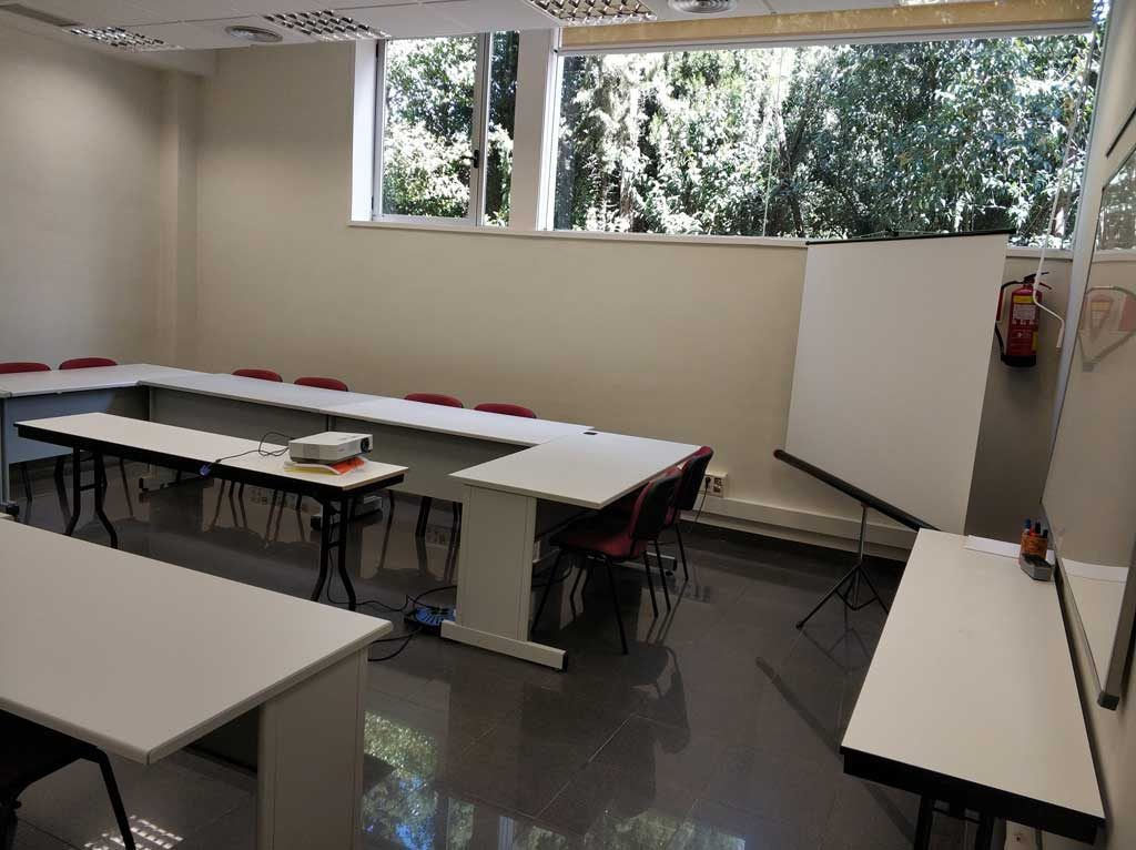 Sala de formacio PIMEC Girona i Giworking